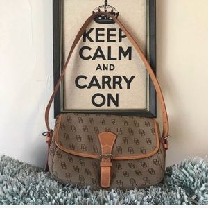 Authentic Dooney & Bourke Vintage Flap Bag